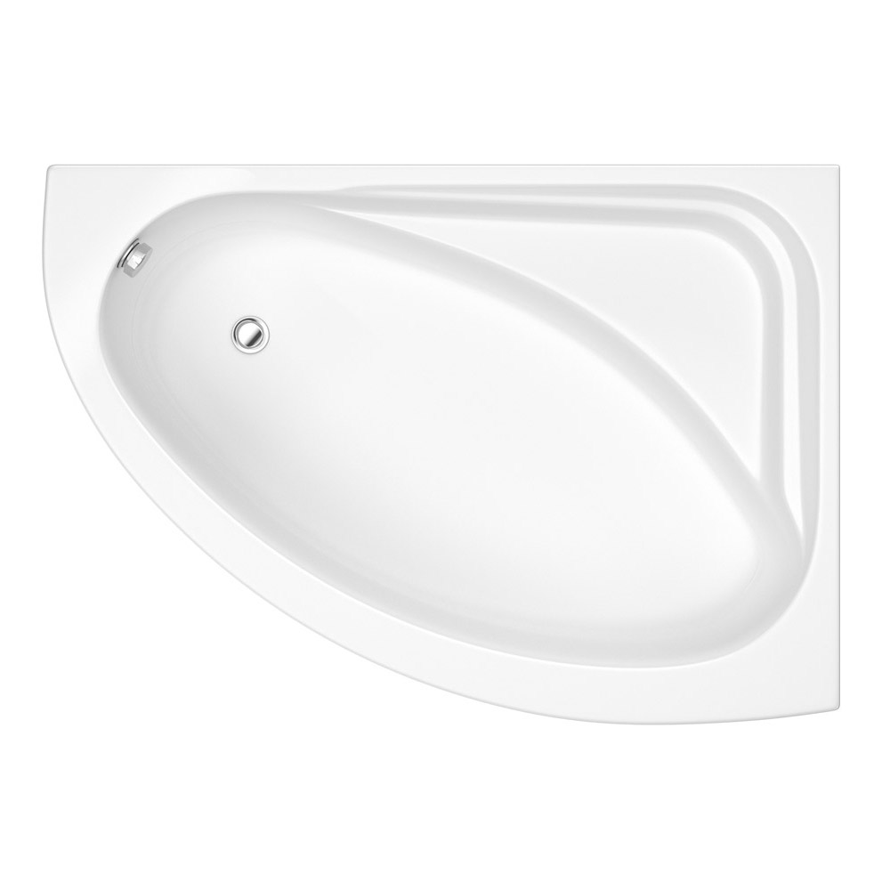 Orlando Corner Bath with Panel (Right Hand Option 1500 x 1040mm) profile large image view 2