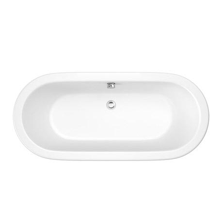 Trojan - 1695 x 755mm Inset Double Ended Oval Bath - PSJ010