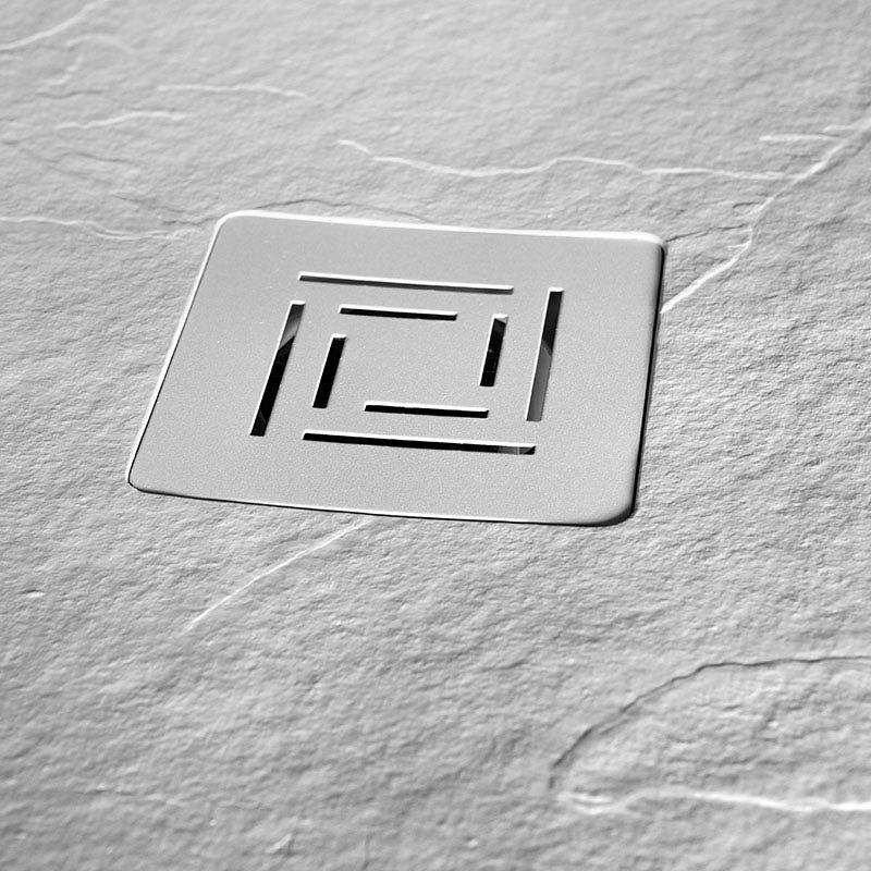 Merlyn Truestone Rectangular Shower Tray - White profile large image view 4
