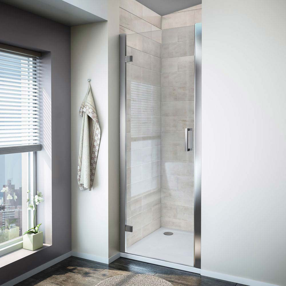 Turin 8mm Hinged Shower Door - Easy Fit Large Image