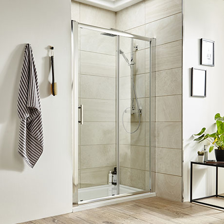 Turin 8mm Sliding Shower Door - Easy Fit