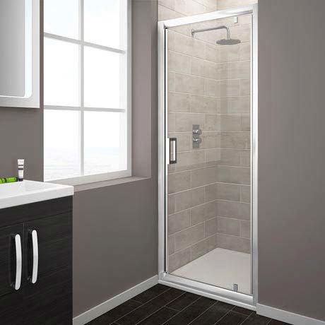 Turin Pivot 8mm Easy Fit Shower Door