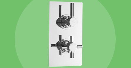 Twin Shower Valves with Diverter