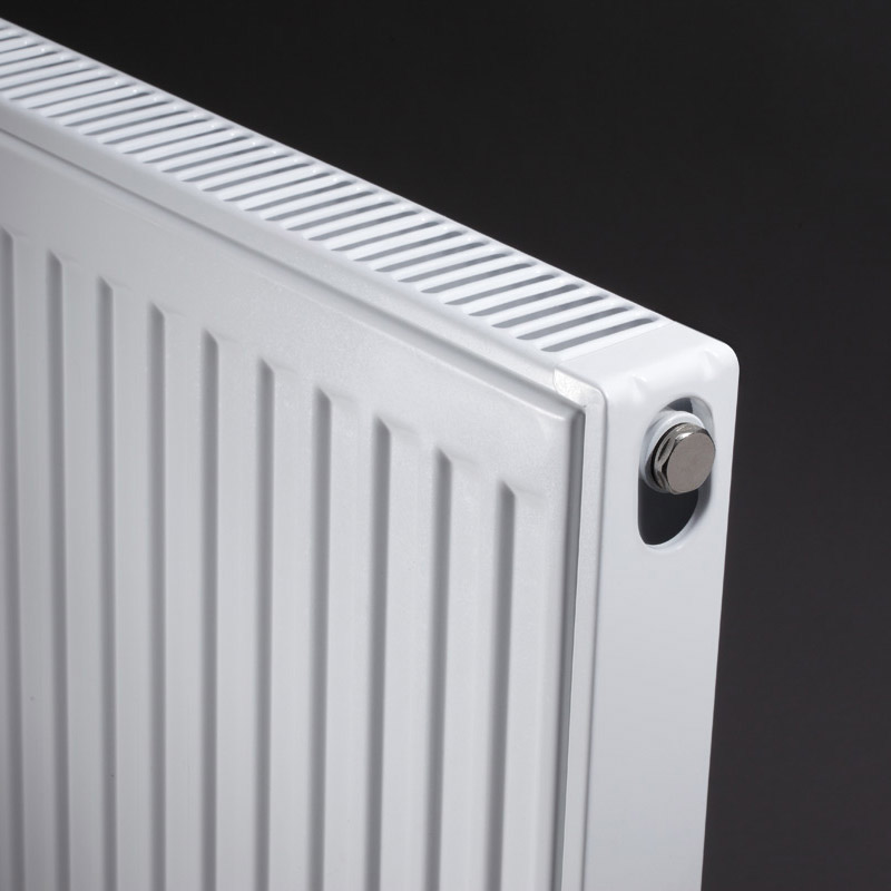 Type 21 Compact 400mm High Double Panel Single Convector Radiator - Various Sizes profile large image view 3