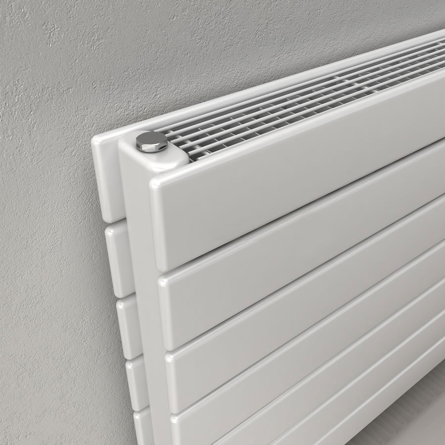 Reina Flatco Type 21 Steel Designer Radiator - Anthracite profile large image view 2