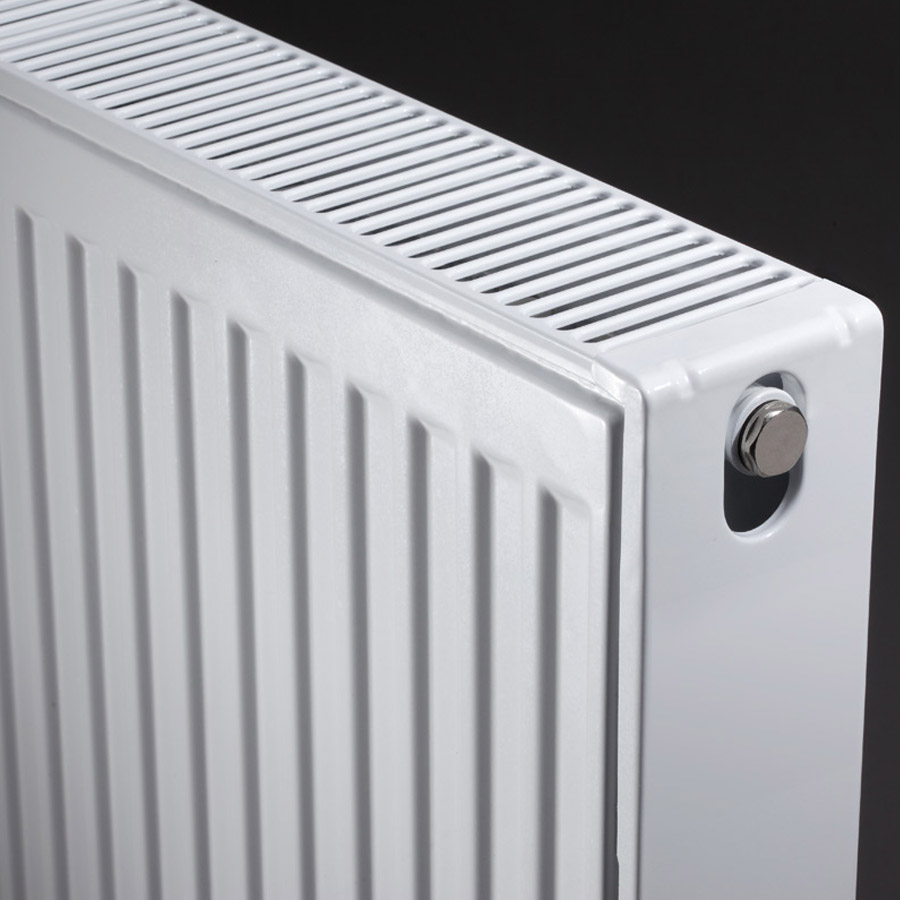 Type 22 Compact 600mm High Double Convector Radiator - Various Sizes profile large image view 2