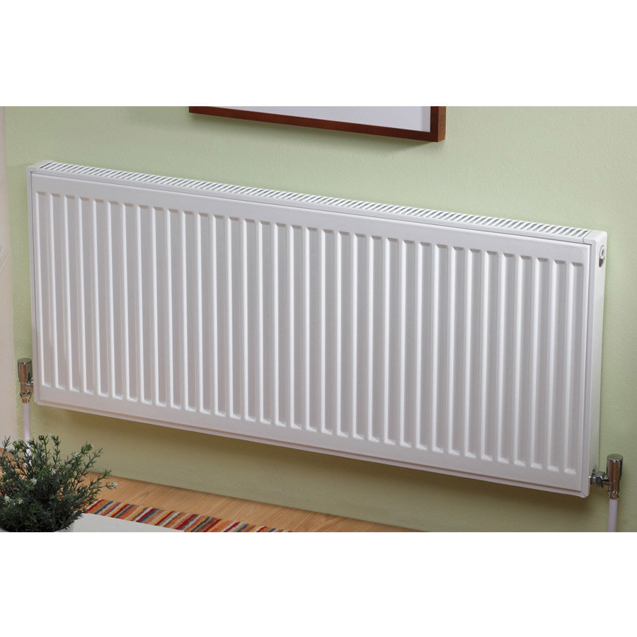 Type 11 Compact 900mm High Single Convector Radiator - Various Sizes Profile Large Image