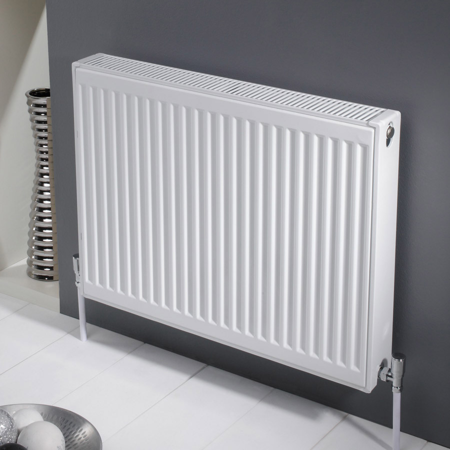 Type 11 Compact 900mm High Single Convector Radiator - Various Sizes Large Image