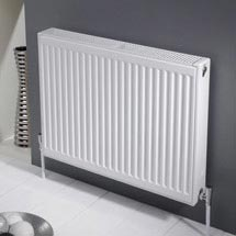 Type 21 Compact 750mm High Double Panel Single Convector Radiator - Various Sizes Medium Image