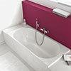 Villeroy and Boch O.novo Single Ended Rectangular Bath profile small image view 1