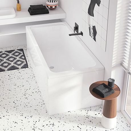 Villeroy and Boch Architectura 1800 x 800mm Double Ended Rectangular Bath - UBA180ARA2V-01