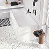 Villeroy and Boch Architectura 1800 x 800mm Double Ended Rectangular Bath - UBA180ARA2V-01 profile small image view 1