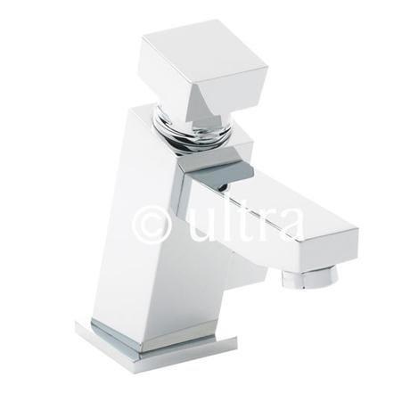 Ultra Square Non Concussive Mono Basin Mixer - TWS010