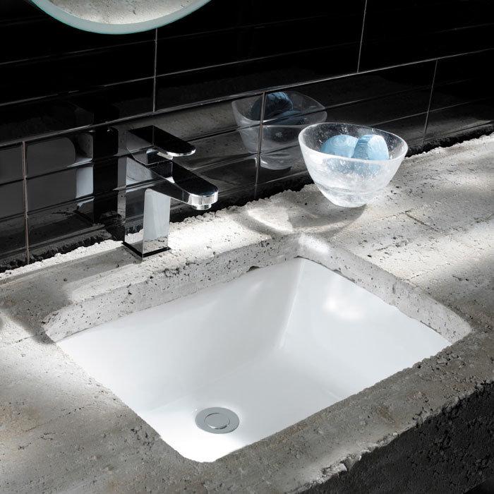 Bauhaus - Torino A Midi Undermount Basin - 510 x 375mm Feature Large Image