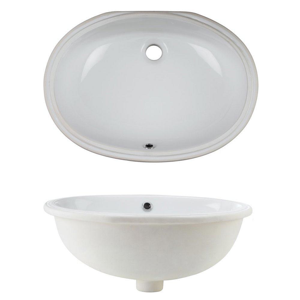 Bauhaus Ancona Undermount Basin - 570 x 400mm Profile Large Image