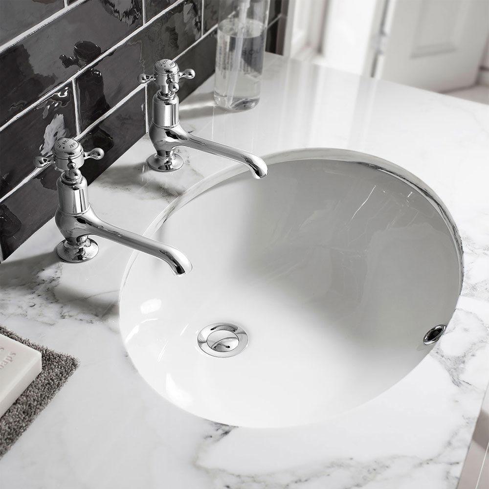 Bauhaus Ancona Undermount Basin - 570 x 400mm Large Image