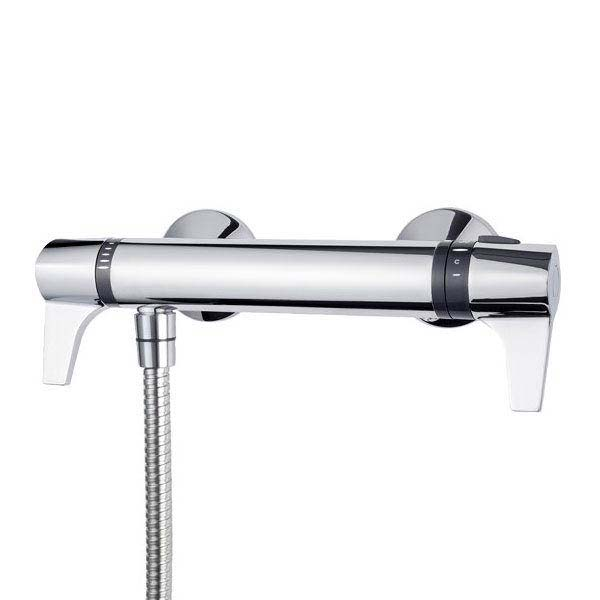 Triton Exe Lever Thermostatic Bar Shower Mixer & Kit - UNEXTHBMINC profile large image view 2