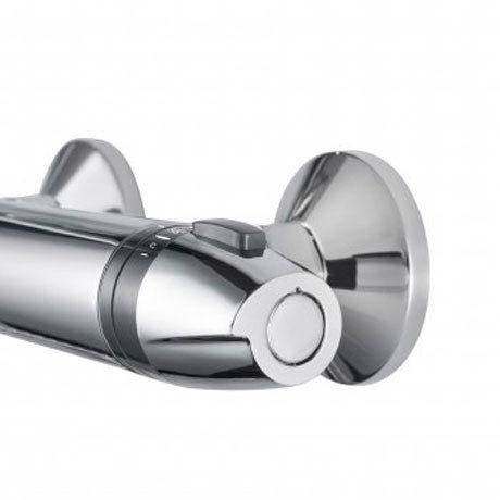Triton Exe Thermostatic Bar Shower Mixer & Kit - UNEXTHBM profile large image view 2