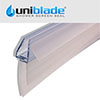 Uniblade Universal Shower Screen Seal for Straight or Curved 4-10mm Thick Glass Small Image