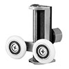 Uniwheel Universal Replacement Shower Door Runner - Set of 2 profile small image view 1