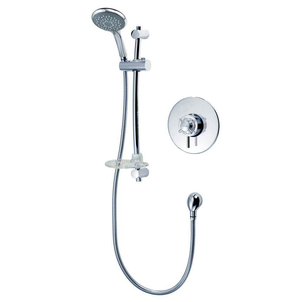 Triton Mersey Built-In Concentric Thermostatic Shower Mixer & Kit - UNMEBTCM Large Image
