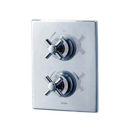 Triton Mersey Dual Control Thermostatic Shower Mixer & Kit - UNMEDCMX profile large image view 2