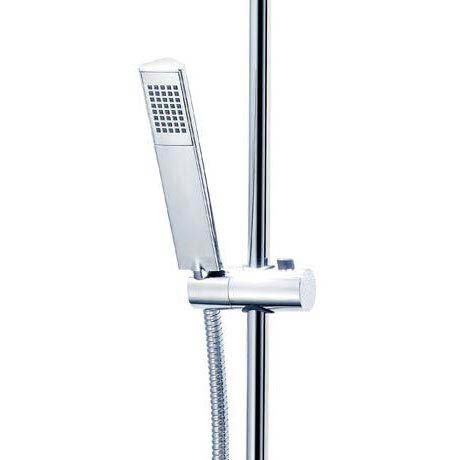 Triton Mersey Thermostatic Bar Shower Mixer with Diverter & Kit - UNMETHBMDIV Feature Large Image