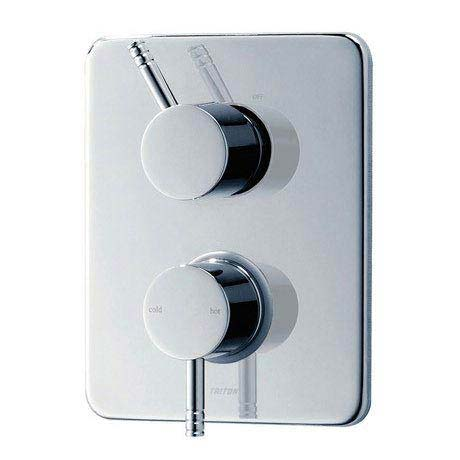 Triton Thames Dual Control Thermostatic Shower Mixer & Kit - UNTHDCMX profile large image view 2
