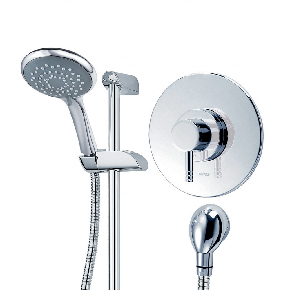 Triton Thames Built-In Sequential Thermostatic Shower Mixer & Kit - UNTHTHBTSM profile large image view 3