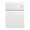 Hudson Reed Urban Satin White 600mm WC Unit - URB141 profile small image view 1
