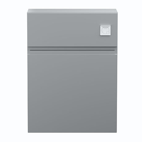 Hudson Reed Urban Satin Grey 600mm WC Unit - URB241