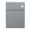 Hudson Reed Urban Satin Grey 600mm WC Unit - URB241 profile small image view 1