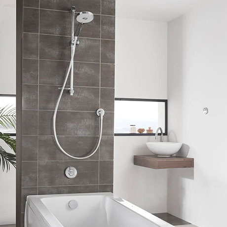 Aqualisa Unity Q Smart Shower Concealed with Adjustable Head and Bath Fill