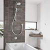 Aqualisa Unity Q Smart Shower Concealed with Adjustable Head and Bath Fill profile small image view 1