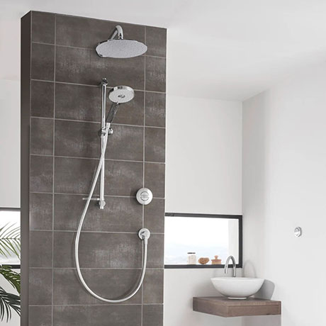 Aqualisa Unity Q Smart Shower Concealed with Adjustable and Wall Fixed Heads