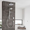 Aqualisa Unity Q Smart Shower Concealed with Adjustable and Wall Fixed Heads profile small image view 1