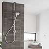Aqualisa Unity Q Smart Shower Exposed with Adjustable Head profile small image view 1