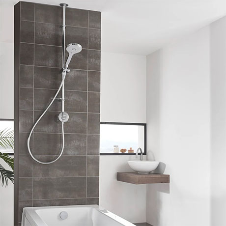 Aqualisa Unity Q Smart Shower Exposed with Adjustable Head and Bath Fill