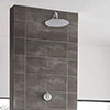 Aqualisa Unity Q Smart Shower Concealed with Wall Fixed Head profile small image view 1