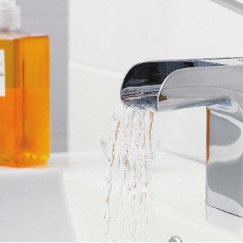 Series U Open Spout Bath Shower Mixer w/ Shower Kit - Chrome - UTY364 Profile Large Image