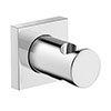 Duravit Square Shower Handset Holder - UV0620025000 profile small image view 1
