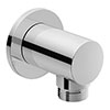 Duravit Round Shower Outlet Elbow - UV0630006000 profile small image view 1