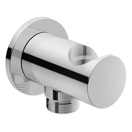 Duravit Round Shower Outlet Elbow & Handset Holder - UV0630007000