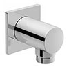 Duravit Square Shower Outlet Elbow - UV0630025000 profile small image view 1