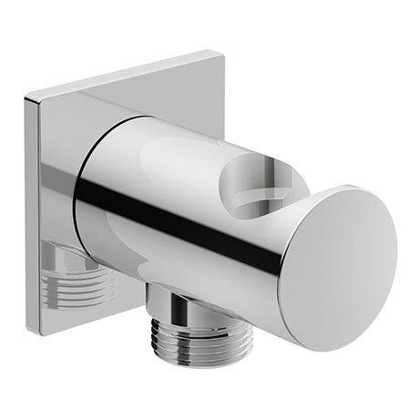 Duravit Square Shower Outlet Elbow & Handset Holder - UV0630026000