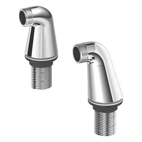Duravit Pillar Unions for Bath Mixer - UV5700000000