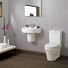 Ultra - Priory 4 Piece 1TH Cloakroom Suite profile small image view 1