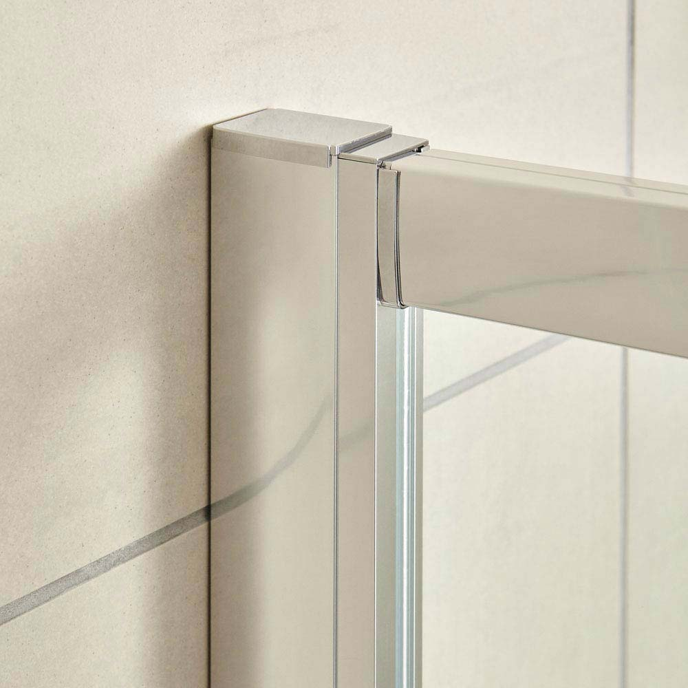 Ultra Apex Hinged Shower Door - Various Size Options profile large image view 2