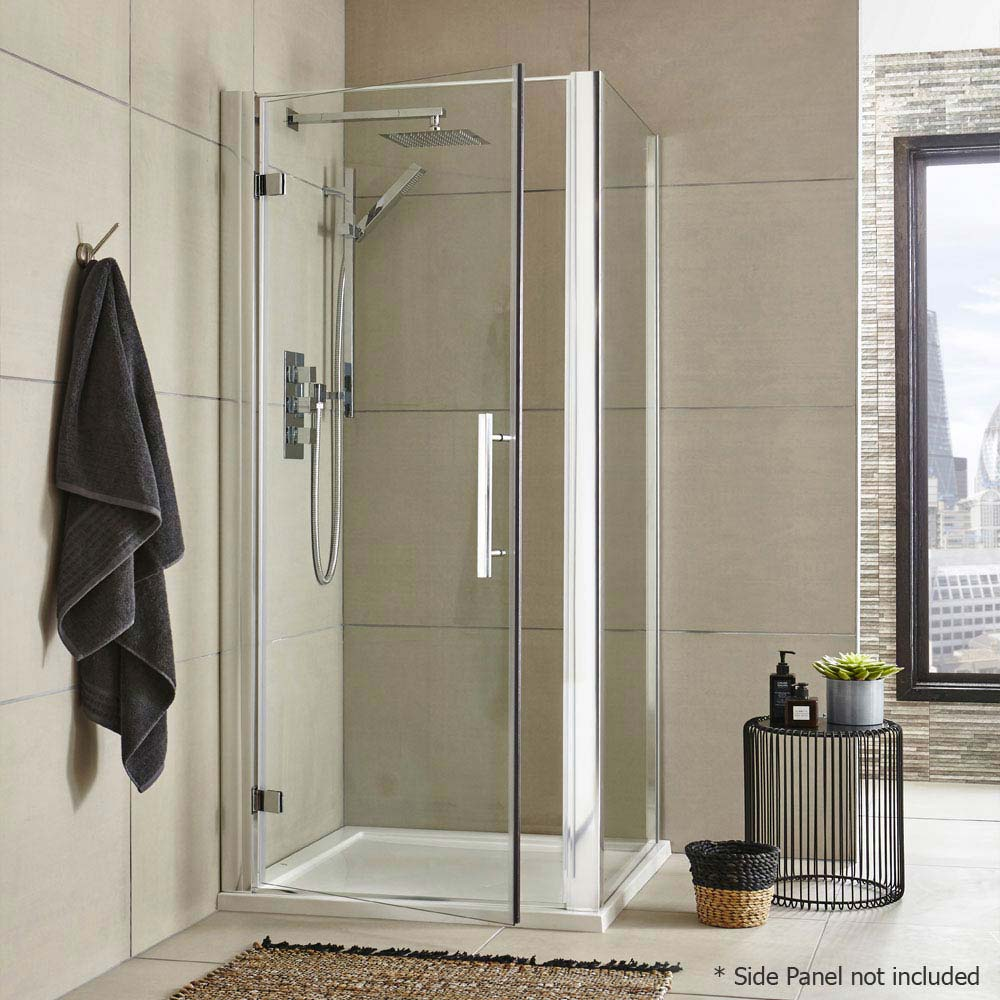 Ultra Apex Hinged Shower Door - Various Size Options profile large image view 4