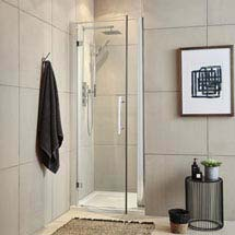 Ultra Apex Hinged Shower Door - Various Size Options Medium Image